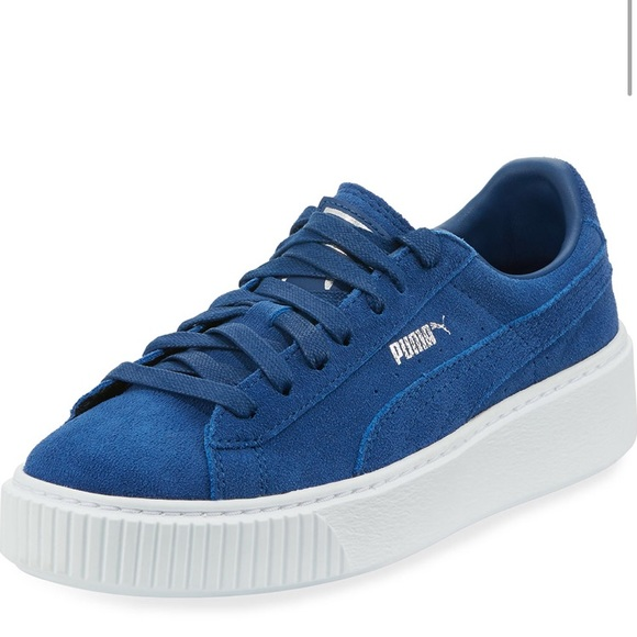 "7b5b4837bfb7 Puma Suede Platform Lace-Up ""Creeper"" Sneaker"